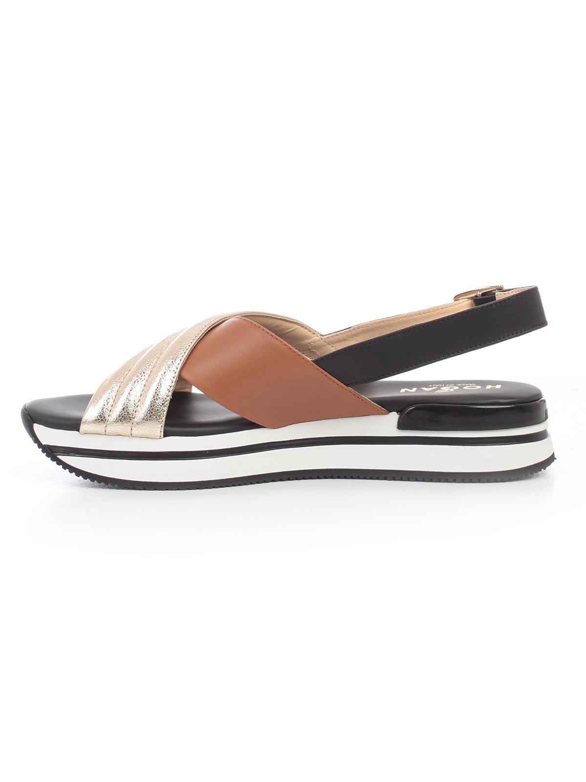 4c859daac9517 Hogan Shoes HXW2570BJ80KKVOQDQ - NERO PLATINO BISCOTTO.Bernardelli ...