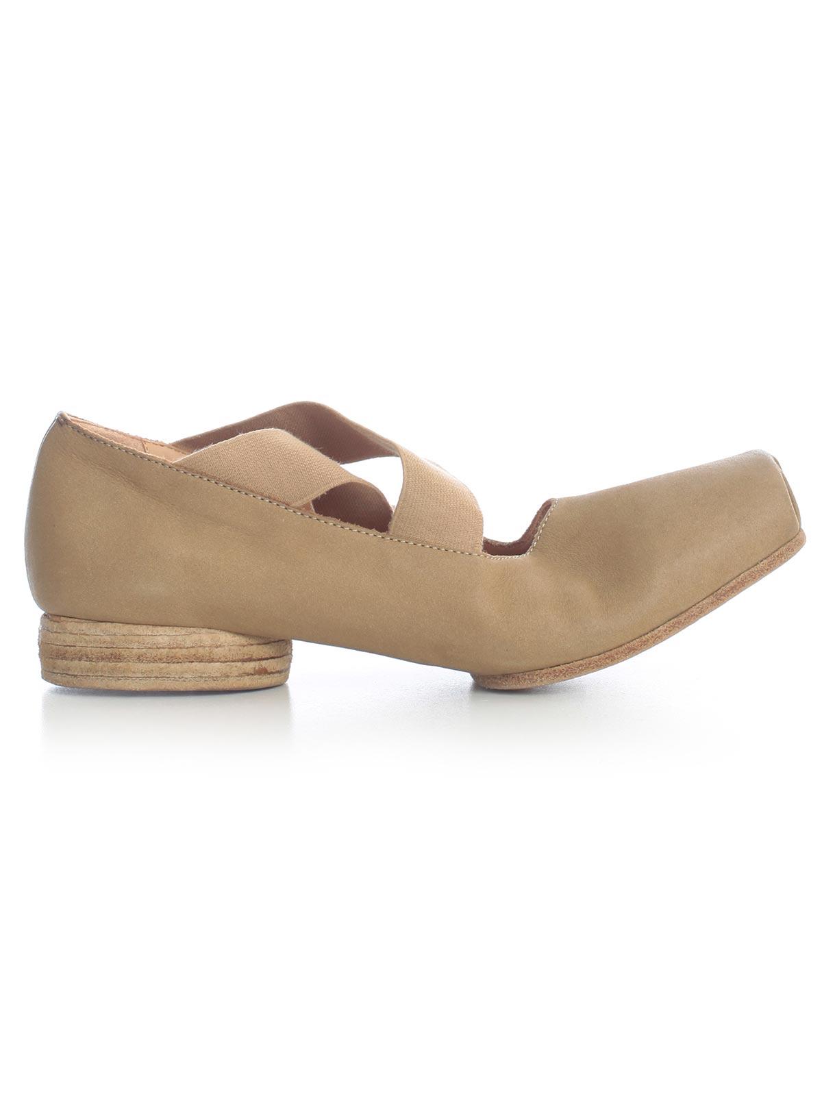 Uma Wang Shoes US9004.I92P0 - UW200 TAN