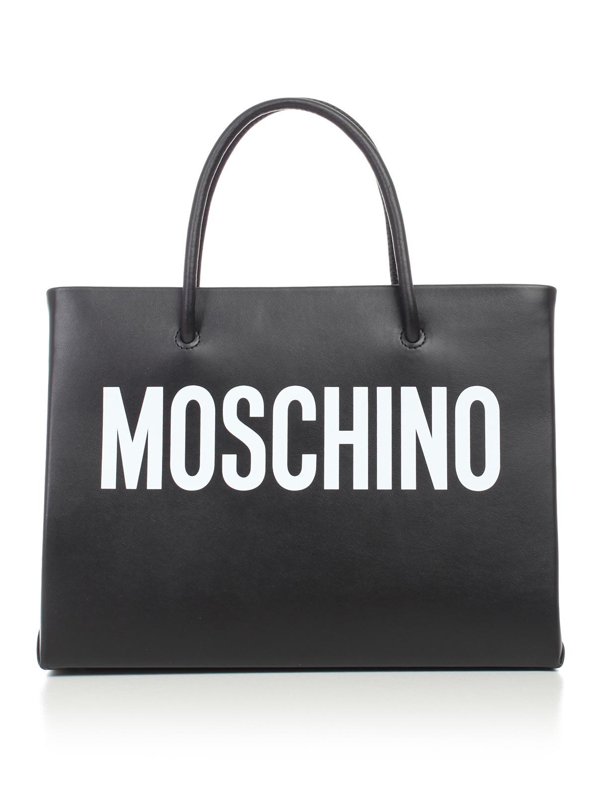 half price recognized brands available Moschino Bags A7415.8001 - 1555 FANTASY PRINT BLACK.Bernardelli ...