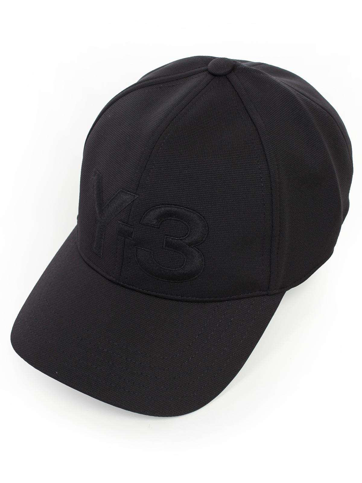 118164bc2e4 Y-3 Yohji Yamamoto Adidas Hat DY9346 - BLACK.Bernardelli Store ...