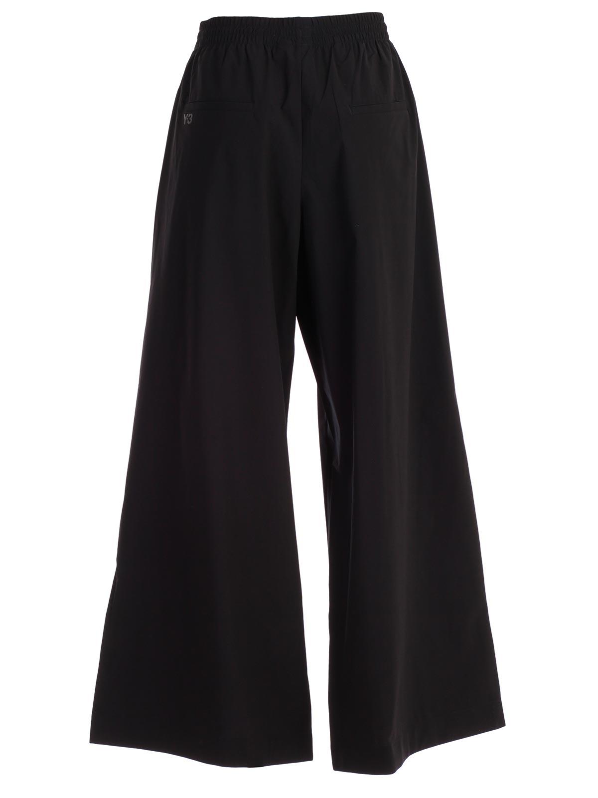 ccb035dd5a4ea Y-3 Yohji Yamamoto Adidas Trousers DY7236 - BLACK.Bernardelli Store ...