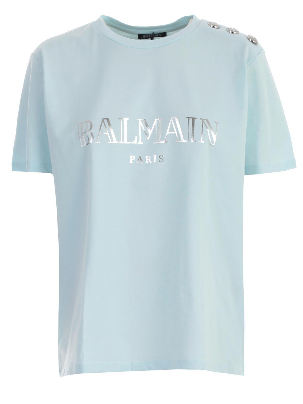 balmain t shirt dress