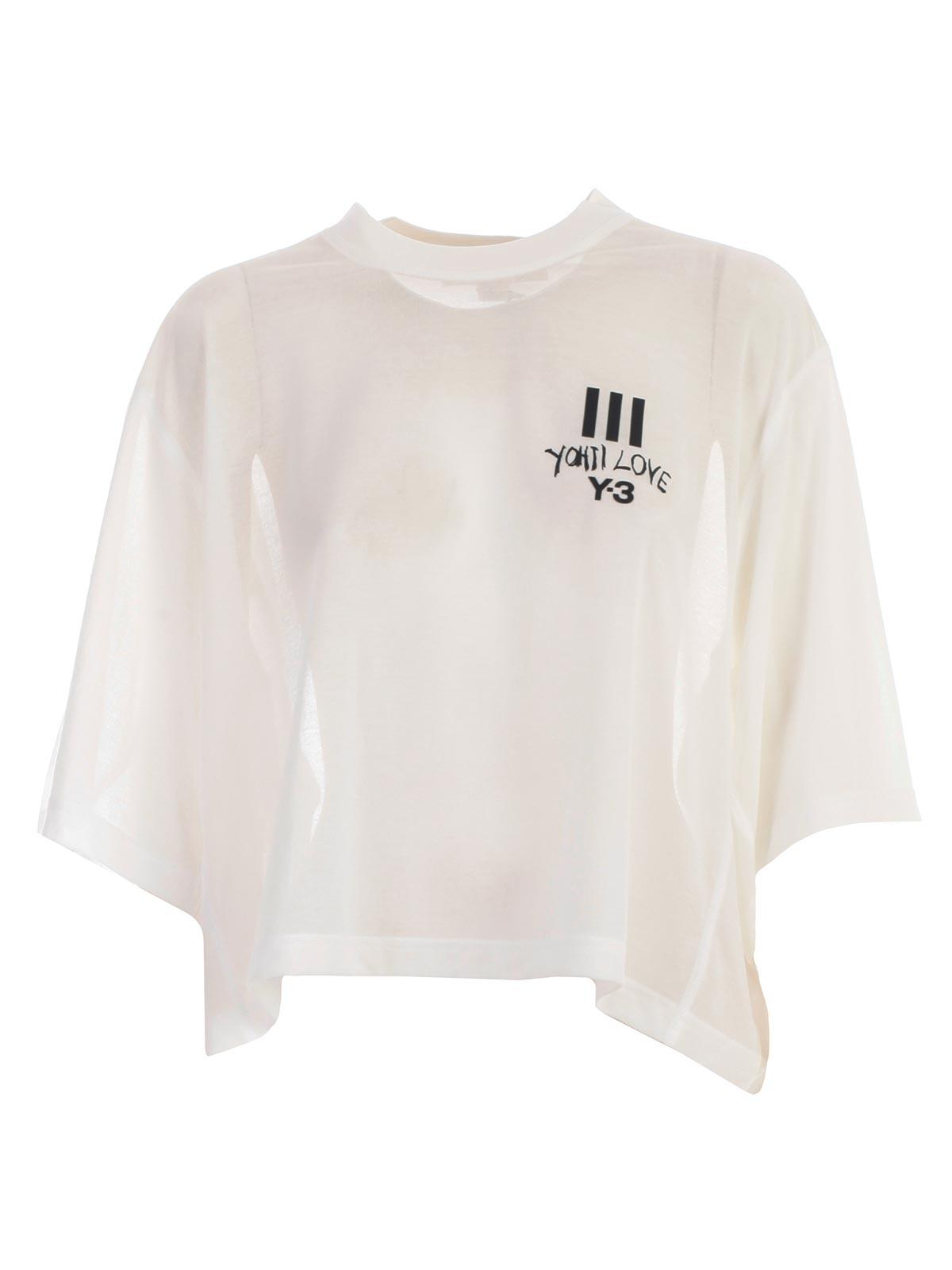 Yamamoto 3 Dy7223 Shirt Adidas Y Yohji White T Core Bernardelli OvRUq4xBW