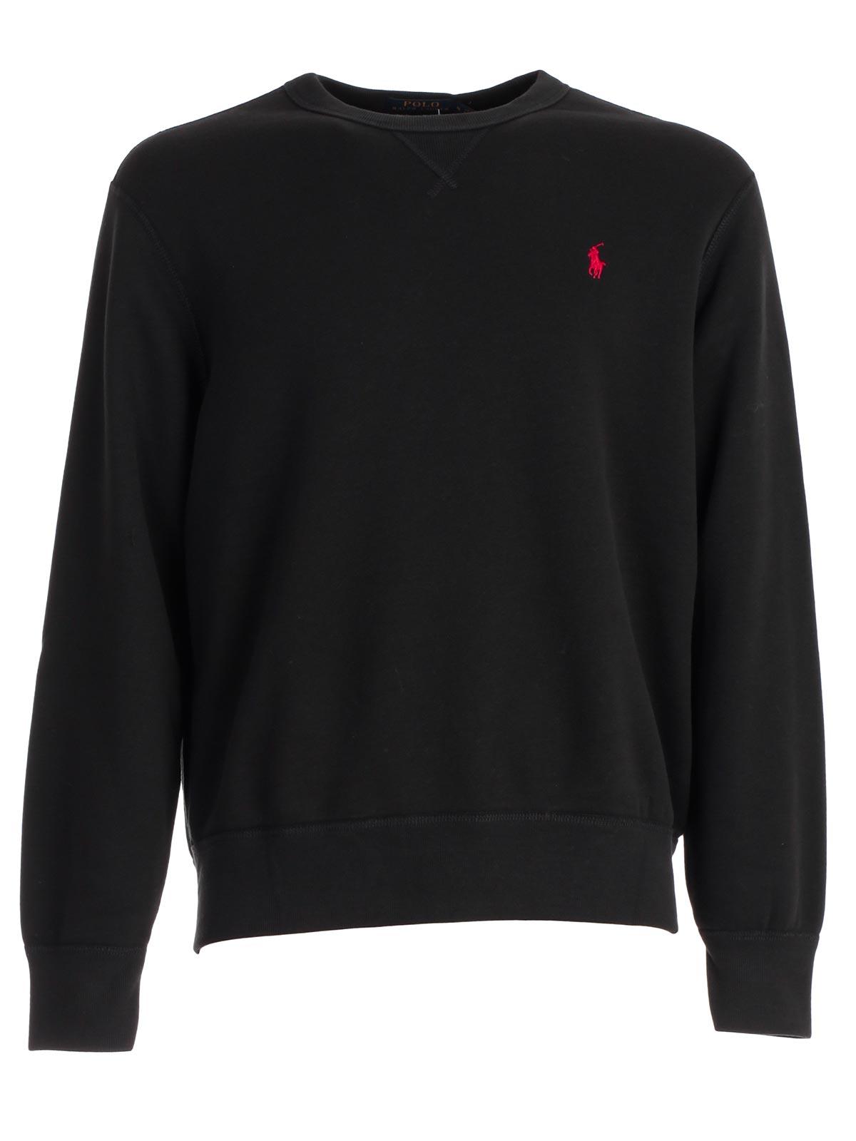 2b17d1903 Polo Ralph Lauren Sweatshirt 710.717112.003 - POLO BLACK.Bernardelli ...