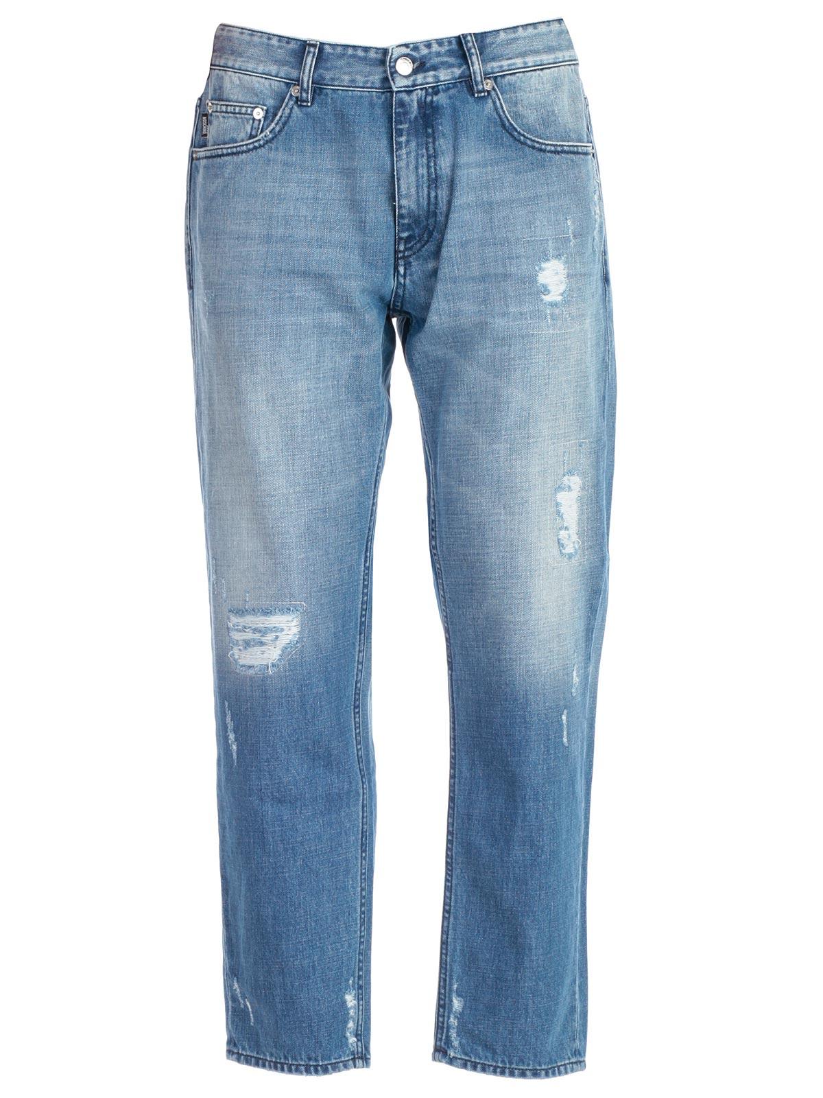 LOVE MOSCHINO Jeans Used in Denim Denim