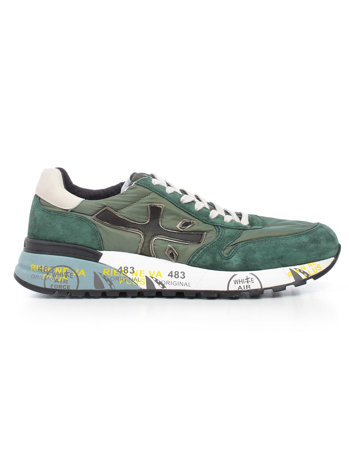 Premiata Shoes Sneakers & Slip On Men Green | Vietti Shop