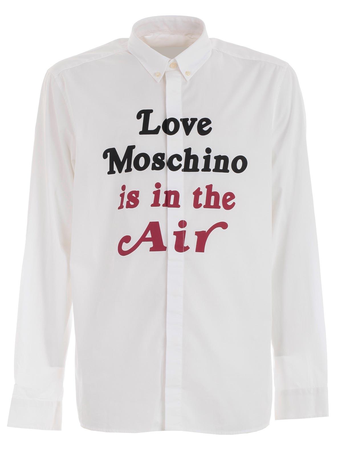 Love Moschino Polo optical white